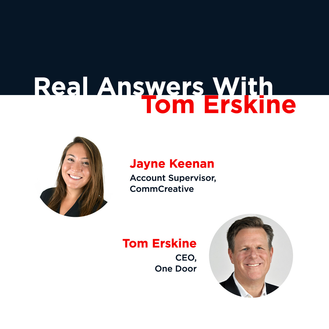 Real Answers With CEO of One Door, Tom Erskine